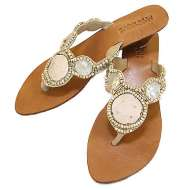 Mystique Mother of Pearl Sandals Mother of Pearl