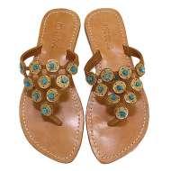 Mystique Sandals Turquoise