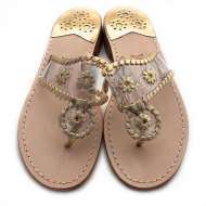 Jack Rogers Navajo Clear Gold