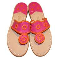 Jack Rogers Navajo Fuchsia/Orange