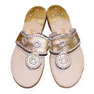 Jack Rogers Navajo Gold/Silver