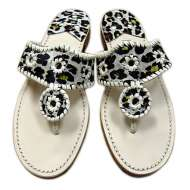 Jack Rogers Jaguar Navajo Sandals Off White