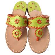 Jack Rogers Navajo Lime/Orange