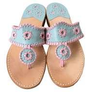 Jack Rogers Navajo Pastel Blue/Pink