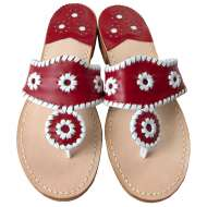 Jack Rogers Navajo Red/White