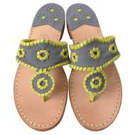 Jack Rogers Navajo Denim/Lime