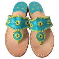 Jack Rogers Navajo Turquoise/Lime
