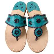 Jack Rogers Navajo Turquoise/Violet
