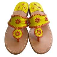 Jack Rogers Navajo Bright Yellow/Orange