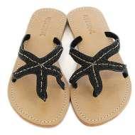 Mystique Starfish Sandals Black