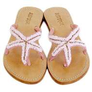 Mystique Starfish Sandals Pink