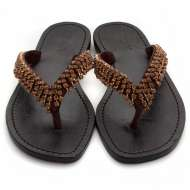 Mystique Jangleuoise Sandals Bronze