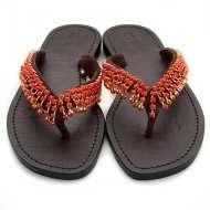 Mystique Jangleuoise Sandals Coral