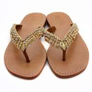 Mystique Jangleuoise Sandals Gold
