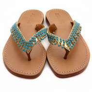 Mystique Jangleuoise Sandals Turquoise