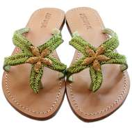 Mystique Gold Starfish Green
