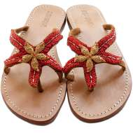 Mystique Gold Starfish Red