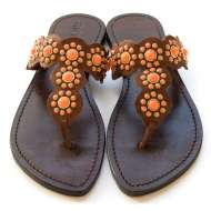 Mystique with Turquoise Sandals Coral