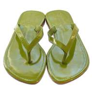 Mystique Thong Green Patent