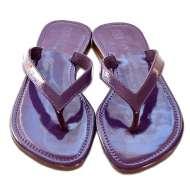 Mystique Thong Purple Patent