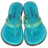 Bernardo Miami Woven Blue/Green