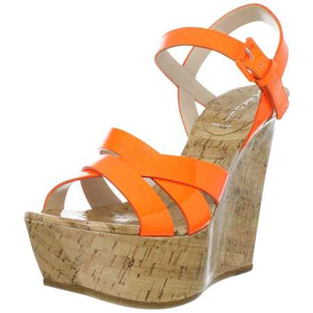Casadei Cork Wedge