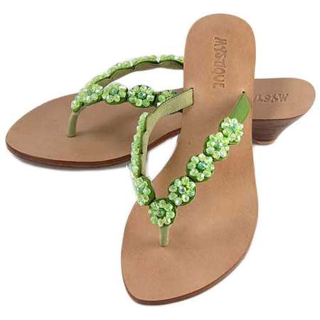 Mystique Flower Rosette Sandals