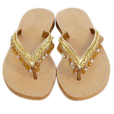 Mystique Crystal Sandals