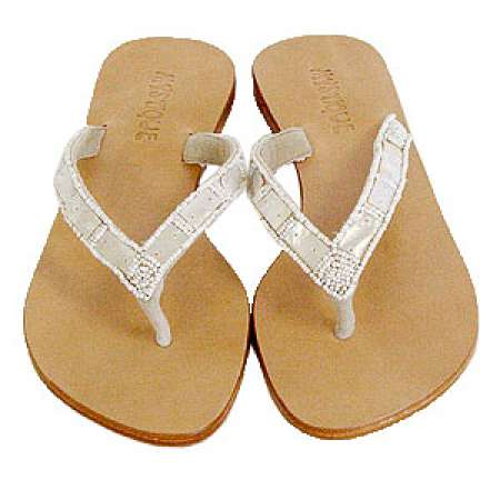 MOTHER OF PEARL Sandals