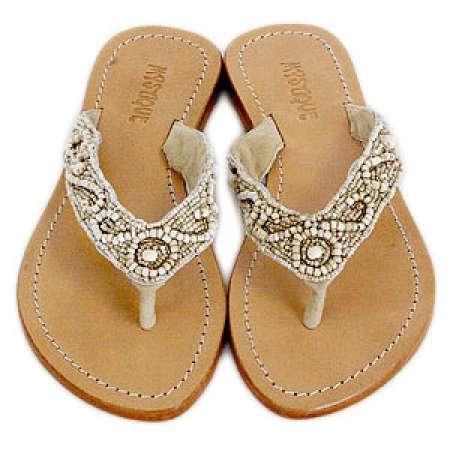 Mystique Beaded Sandals