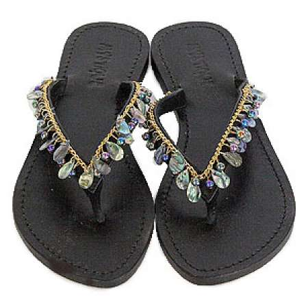 Mystique Mother of Pearl White Sandals