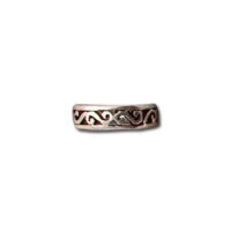 Sterling Silver Toe Ring Oxidized