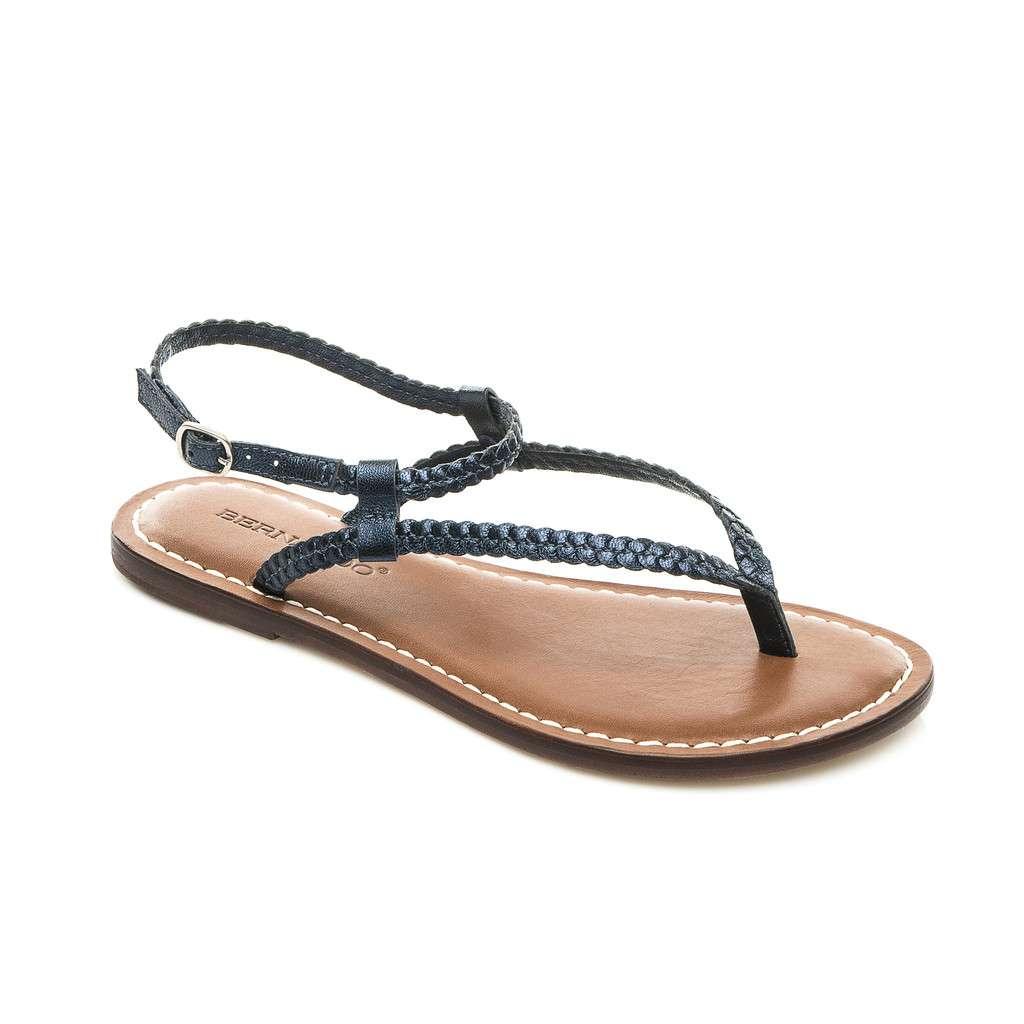 a884241a2f5 Bernardo Merit Woven Flat Thong Women s Sandals
