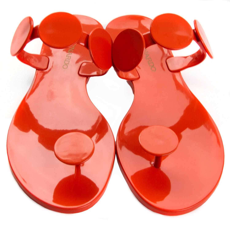 2271a9726fb7 Bernardo Moon Jelly Flat Thong Women s Sandals