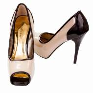 Bridget-7 Nude Patent/Brown Patent