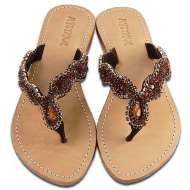 Mystique Jewel Sandals Bronze