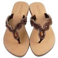 Mystique Jewel Sandals Bronze