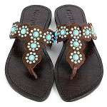 Mystique with Turquoise Sandals