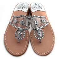 Jack Rogers Navajo Clear Silver