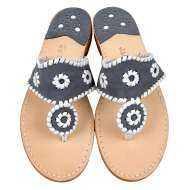 Jack Rogers Navajo Denim/White