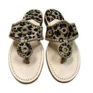 Jack Rogers Jaguar Navajo Sandals Tan