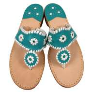 Jack Rogers Navajo Turquoise/White