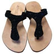 Mystique Boucle Sandals Black