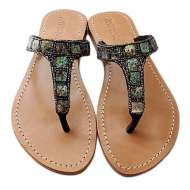 Mystique Mother of Pearl T-Strap Abalone
