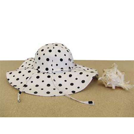 Floppy Hat with Polka Dots
