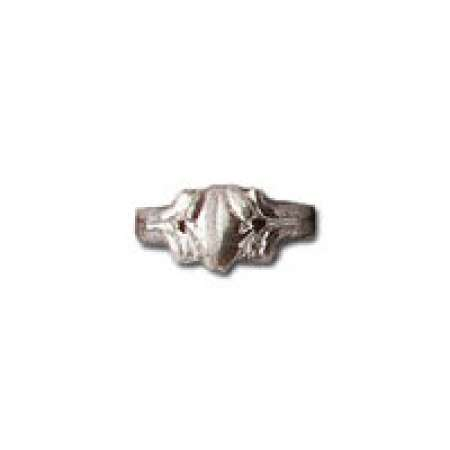 Sterling Silver Toe Ring Complex Desgin